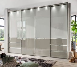 Wiemann Misura 4 Door with 4 Panel Sliding Wardrobe