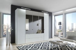 Wiemann VIP Eastside Wardrobe with Carcase Color Front