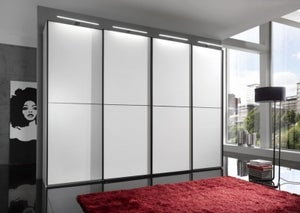 Wiemann VIP Westside Sliding Wardrobe with Carcase Color Front
