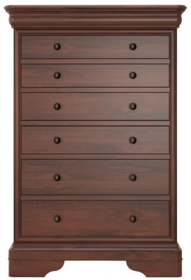 Willis and Gambier Antoinette 6 Drawer Tall Chest
