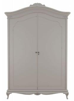 Willis and Gambier Etienne Grey 2 Door Double Wardrobe