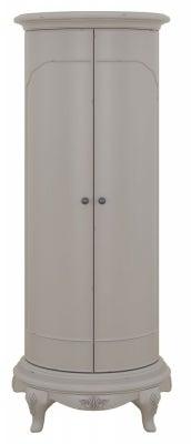 Willis and Gambier Etienne Grey 2 Door Storage Cabinet