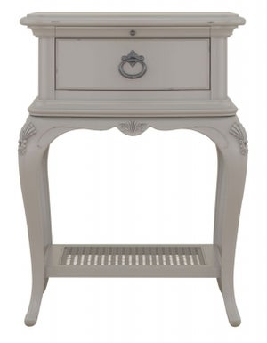 Willis and Gambier Etienne Grey Bedside Cabinet
