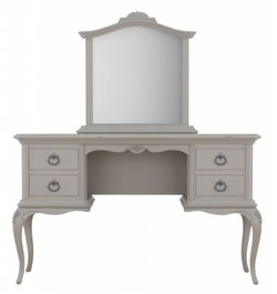 Willis and Gambier Etienne Grey Dressing Table with Mirror