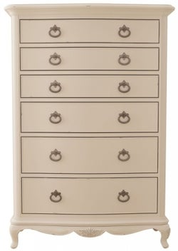 Willis and Gambier Ivory 6 Drawer Chest