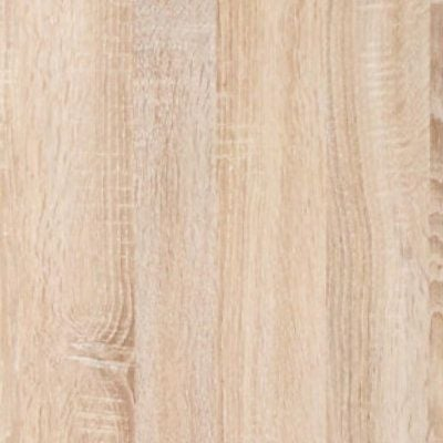 Rustic Oak with Chrome Handles Ledges and Trims 327