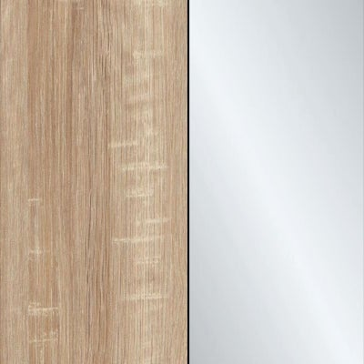 Rustic Oak with Crystal Mirror 443