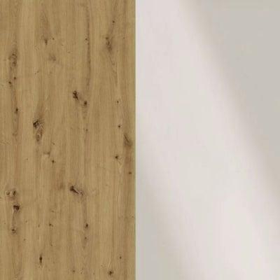 Bianco Oak Carcase and Magnolia Glass Front 329