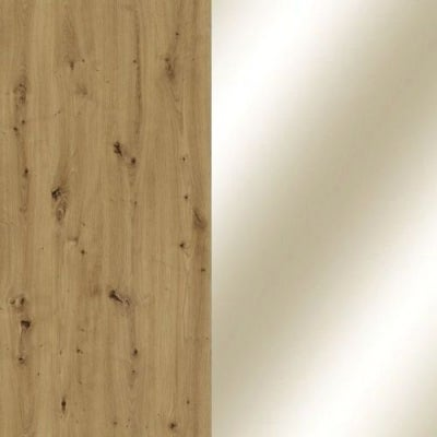 Bianco Oak Carcase and Parsol Bronze Mirror Glass Front 329
