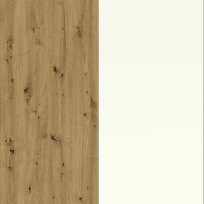 Bianco Oak Carcase and White Front 329-310
