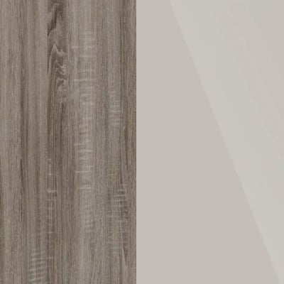 Dark Rustic Carcase and Champagne Glass Front Oak 314