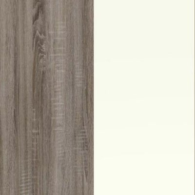 Dark Rustic Carcase and White Front Oak 314-310