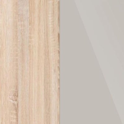 Rustic Oak Carcase and Champagne Glass Front 313