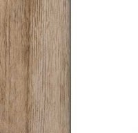Rauch Celle Sanremo Oak Light Carcase with High Polish White Front AP455