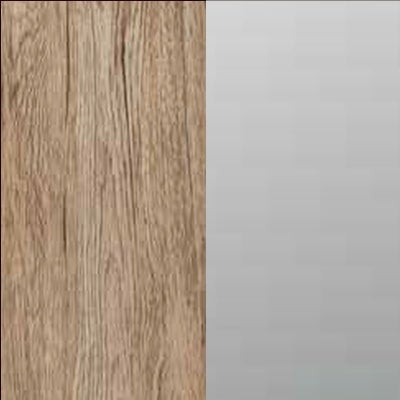 ZA640 : Sanremo Oak Light with Crystal Mirror Front