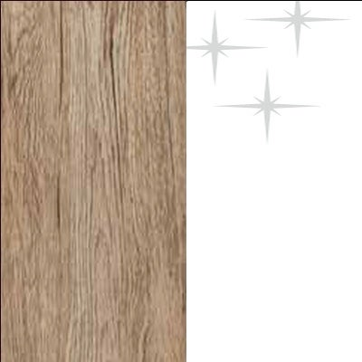 ZA665 : Sanremo Oak Light with High Gloss White Front