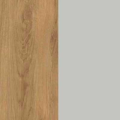 ZA479 : Natural Royal Oak with Silk Grey Front