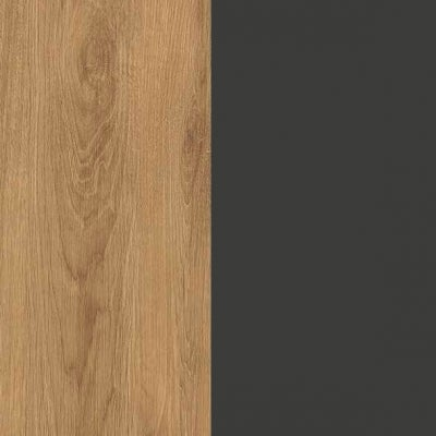 ZK460/ 5521.52 : Natural Royal Oak with Anthracite Woven Fabric