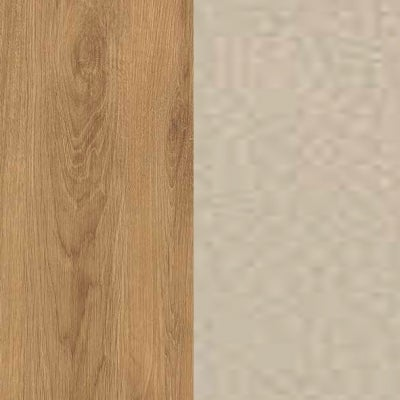 ZK460/ 5515.52 : Natural Royal Oak with Champagne Faux Leather