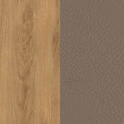 ZK460/ 5510.52 : Natural Royal Oak with Fango Faux Leather