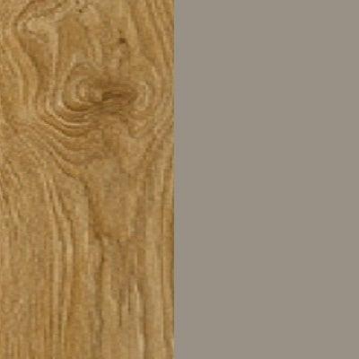 ZA358 : Natural Royal Oak with Glossy Fango Front