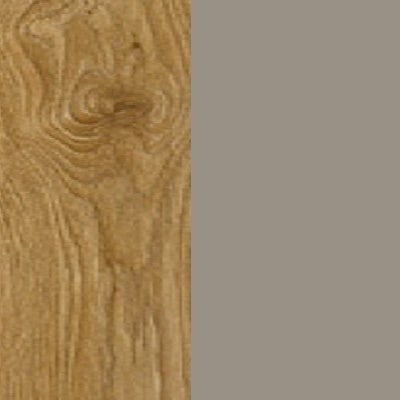 ZA368 : Natural Royal Oak with Matt Fango Front and Top
