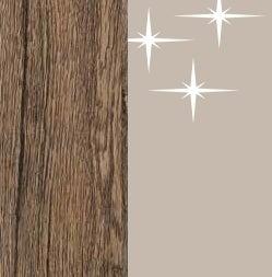 ZA586 : Sanremo Oak Dark with High Gloss Cappuccino Front