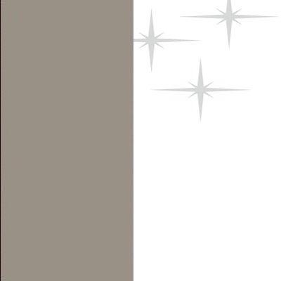 ZA535 : Matt Fango with High Gloss White Front