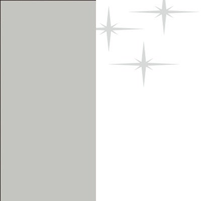 ZA625 : Matt Silk Grey with High Gloss White Front