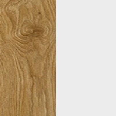 ZA365 : Natural Royal Oak with Matt Crystal White Front and Top