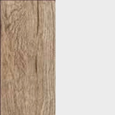 ZA645 : Sanremo Oak Light with Glossy Crystal White Front and Top
