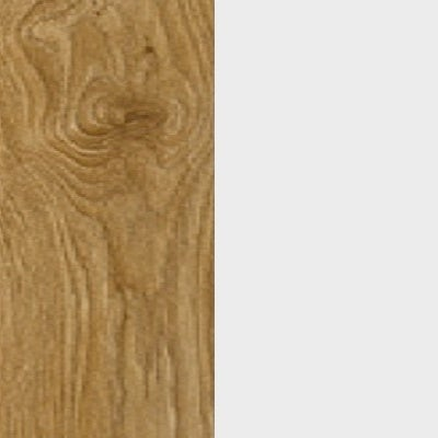 ZA355 : Natural Royal Oak with Glossy Crystal White Front and Top