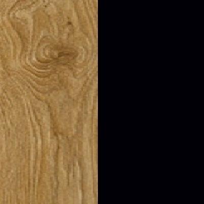 ZA367 : Natural Royal Oak with Matt Black Front and Top