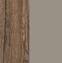 ZA568 : Sanremo Oak Dark with Glossy Fango Front and Top
