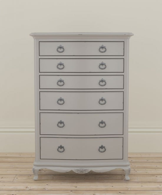 Willis and Gambier Etienne Grey 6 Drawer Chest