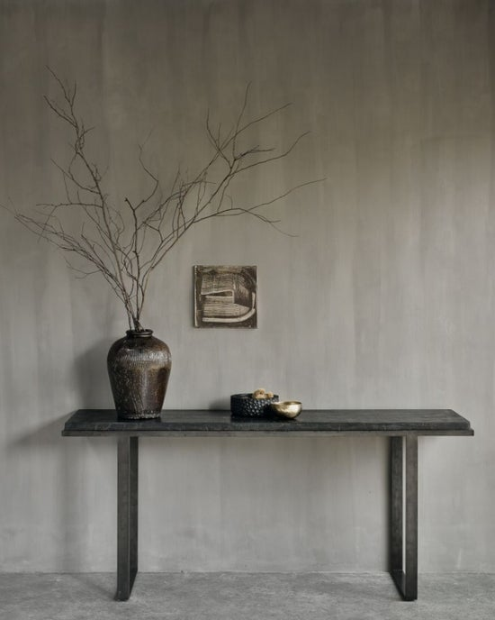 Ethnicraft Stability Umber Console Table