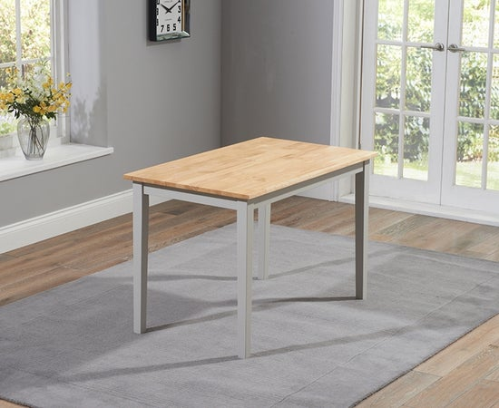 Mark Harris Chichester Oak and Grey Dining Table